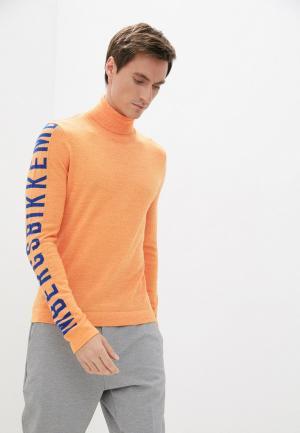 Водолазка Bikkembergs. Цвет: оранжевый
