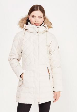 Куртка утепленная Five Seasons. Цвет: белый