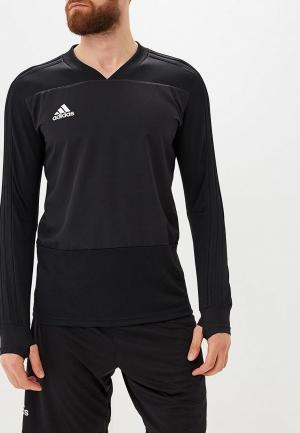 Лонгслив спортивный adidas. Цвет: черный