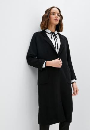 Пальто Blugirl Folies. Цвет: черный