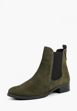 Ботинки Caprice. Цвет: хаки