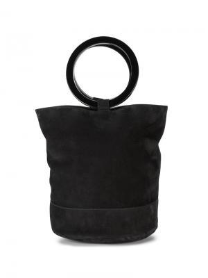 Большая мешковатая сумка-тоутBonsai 30 Simon Miller. Цвет: чёрный