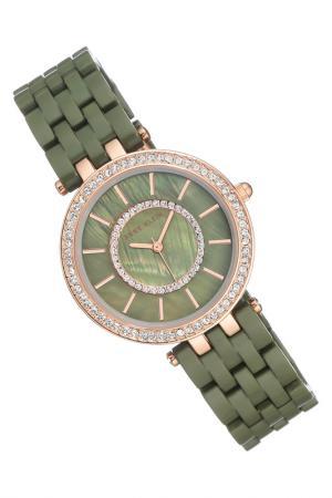Часы наручные ANNE KLEIN. Цвет: зеленый