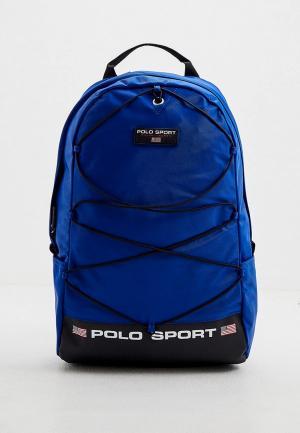 Рюкзак Polo Ralph Lauren. Цвет: синий
