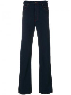Расклешенные джинсы Calvin Klein 205W39nyc. Цвет: синий