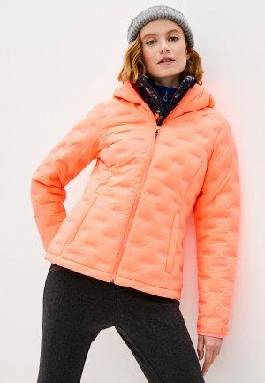 Куртка утепленная Icepeak. Цвет: оранжевый