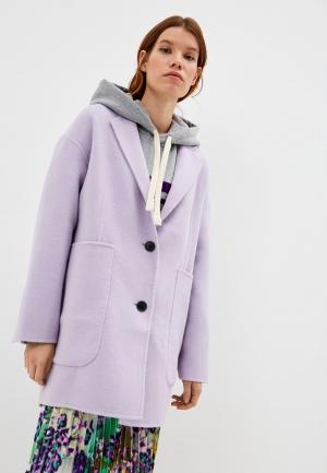 Пальто Bimba Y Lola. Цвет: фиолетовый
