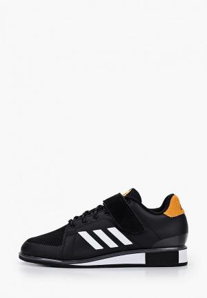 Штангетки adidas. Цвет: черный