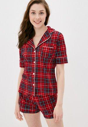 Пижама Rene Santi. Цвет: красный