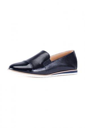 Туфли закрытые GIOTTO. Цвет: черно-синий