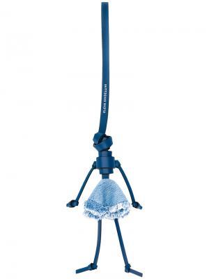 Подвеска для сумки Lolita Elena Ghisellini. Цвет: синий