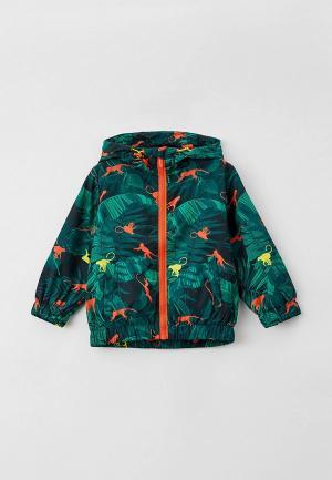 Куртка Button Blue. Цвет: зеленый