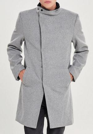 Пальто Only & Sons. Цвет: серый