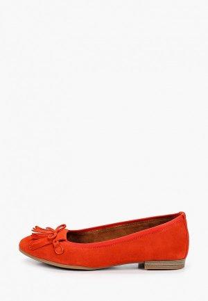 Балетки Tamaris. Цвет: оранжевый