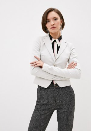 Жакет Patrizia Pepe. Цвет: серый