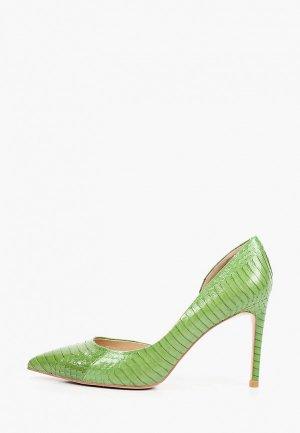 Туфли El Tempo. Цвет: зеленый