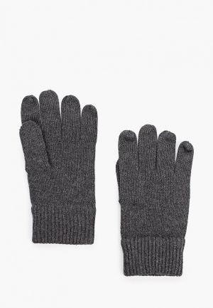 Перчатки Tommy Hilfiger. Цвет: серый