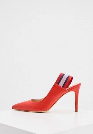 Туфли Principe di Bologna. Цвет: красный