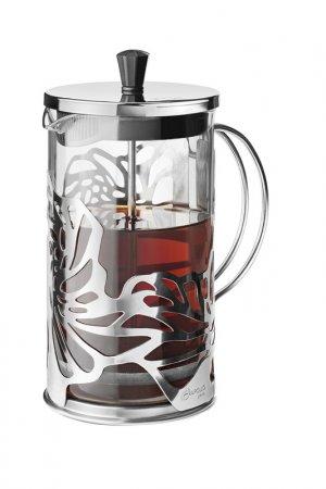 Поршневой чайник 600 мл APOLLO GENIO. Цвет: серебряный
