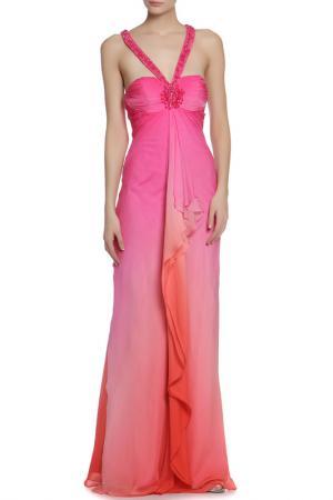 Платье CLIPS. Цвет: фуксия