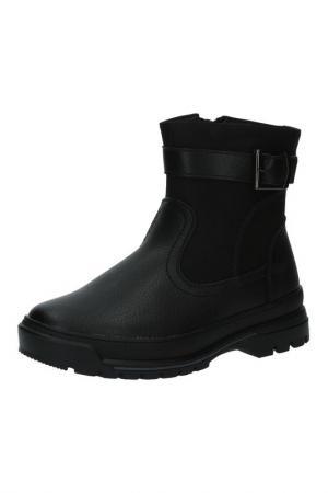 Ботинки INDIGO KIDS. Цвет: черный