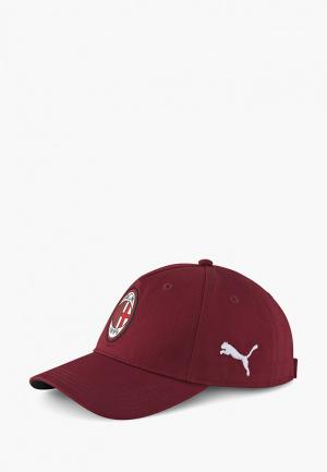 Бейсболка PUMA. Цвет: бордовый