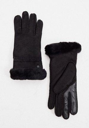 Перчатки UGG. Цвет: черный