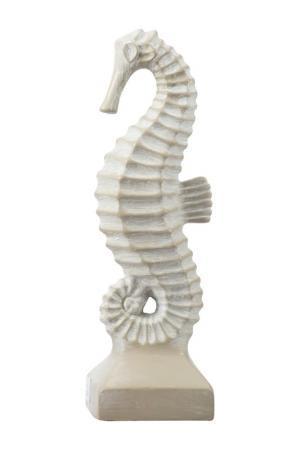 Фигурка Морской конёк ГЛАСАР. Цвет: белый
