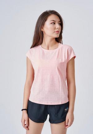 Футболка спортивная Li-Ning. Цвет: розовый