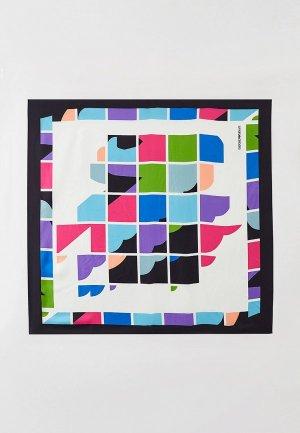Платок Emporio Armani. Цвет: разноцветный