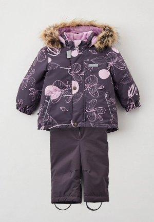 Костюм горнолыжный Kerry. Цвет: фиолетовый