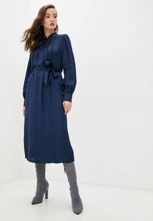 Платье Manila Grace. Цвет: синий