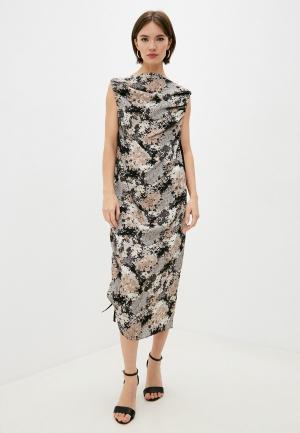 Платье By Malene Birger. Цвет: разноцветный