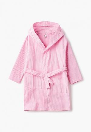 Халат домашний Modis. Цвет: розовый