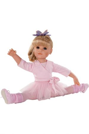 Кукла Ханна балерина Gotz. Цвет: розовый