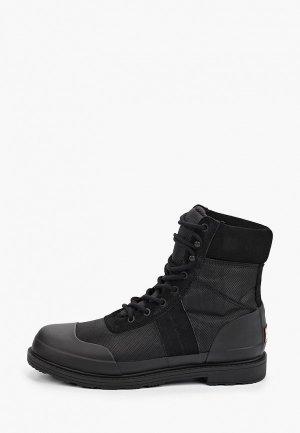 Ботинки Hunter. Цвет: черный