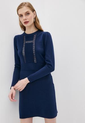 Платье See by Chloe. Цвет: синий