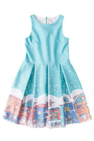 Платье I love to dream. Цвет: мятный