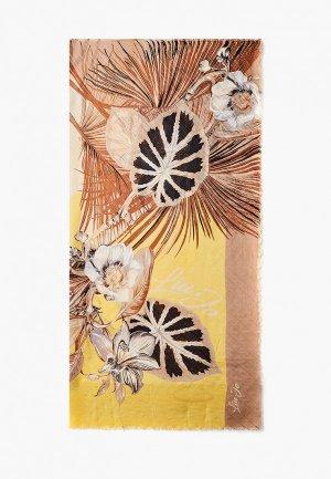 Платок Liu Jo. Цвет: бежевый