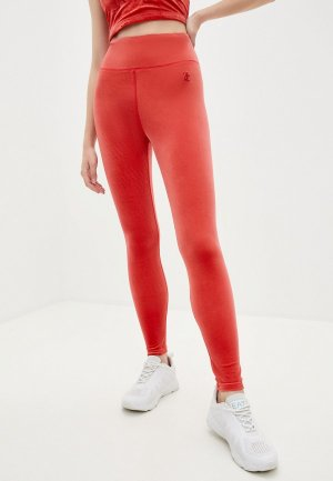 Леггинсы Juicy Couture. Цвет: красный