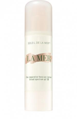 Защитный крем для лица La Mer. Цвет: бесцветный