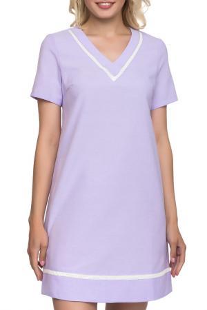 Платье GLOSS. Цвет: сиреневый