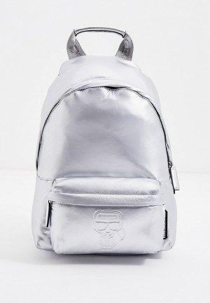 Рюкзак Karl Lagerfeld. Цвет: серебряный