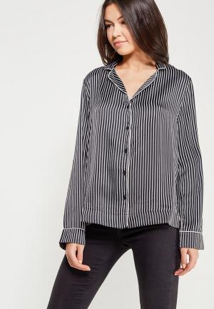 Рубашка домашняя Topshop. Цвет: черный