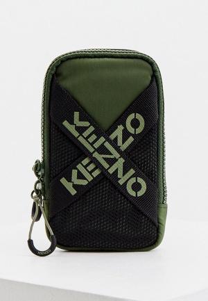 Сумка Kenzo. Цвет: зеленый