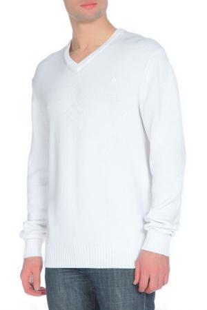 Пуловер Ballantyne. Цвет: белый