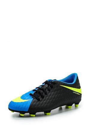 Бутсы Nike. Цвет: разноцветный