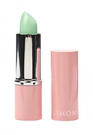 Бальзам для губ Limoni. Цвет: зеленый
