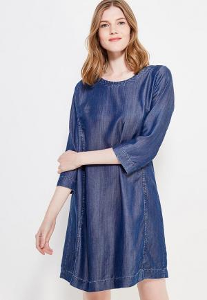 Платье джинсовое 9fashion Woman. Цвет: синий