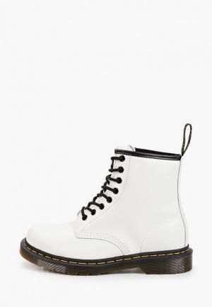 Ботинки Dr. Martens. Цвет: белый